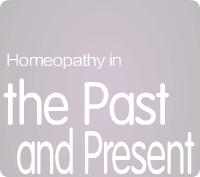 Homeopathy in the Past and Present