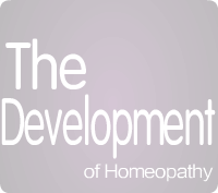 The Development of Homeopathy