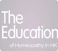 The Education of Homeopathy in HK